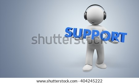 Support. - stock photo