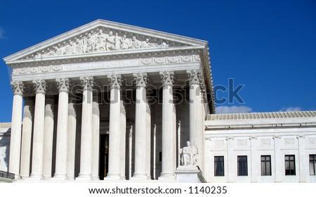 Supreme Court Building - stock photo