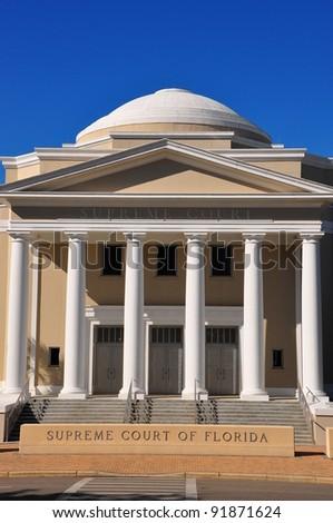 Supreme Court  of Florida - stock photo
