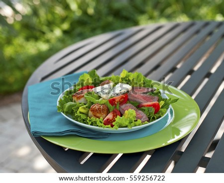 Surf and Turf Salad