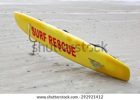 Surf Rescue - stock photo