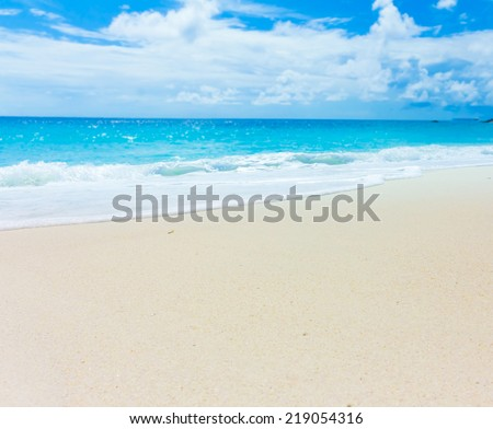 Surf Splashing Tide  - stock photo