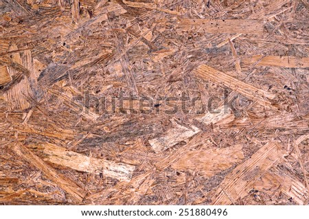Surface chipboard as background - stock photo
