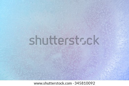 surface colorful ice background or abstract. - stock photo