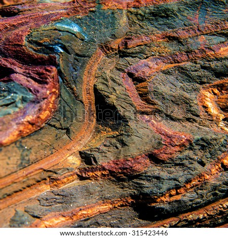 surface mineral concomitant iron ore, industrial iron ore mining