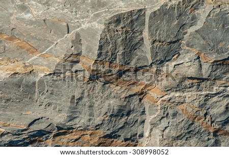 Surface of a rock background. - stock photo