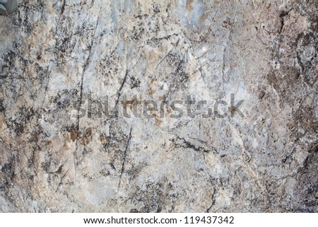 surface of the stone with gray tint - stock photo