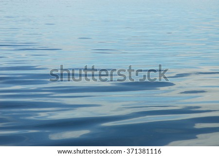 Surface of the water in tropical sea and copy space for add text