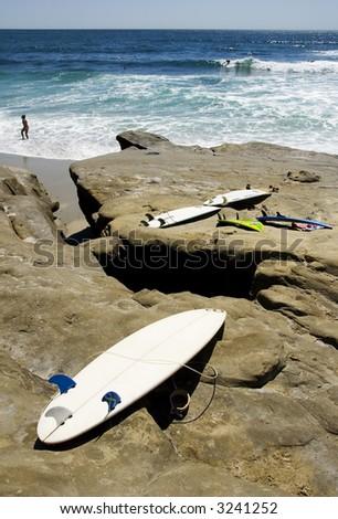 Surfboard - stock photo