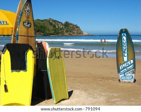 Surfboard Rentals - stock photo