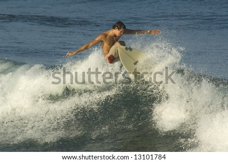 Surfer. Brazilian.