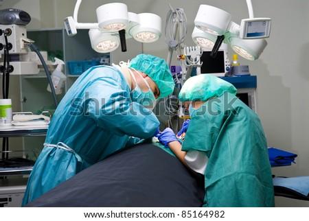 Surgeons - stock photo