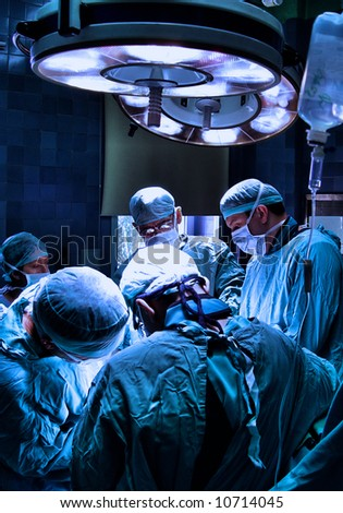 surgeons. See more in my portfolio - stock photo