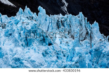 Surprise Glacier - stock photo