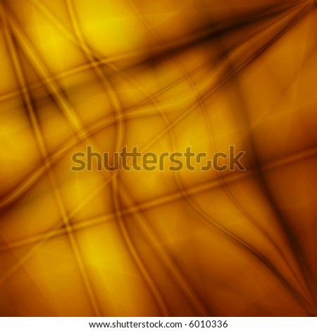 Surreal golden fantasy background - stock photo