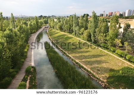 Surroundings in Bio-park Valencia - stock photo