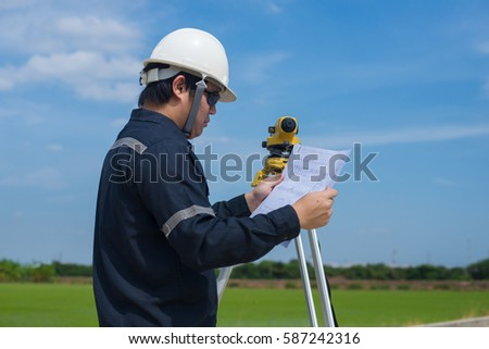 Youth asian business man youth asian stock photo 596605808 for How to read construction site plans