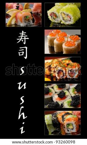 sushi - stock photo