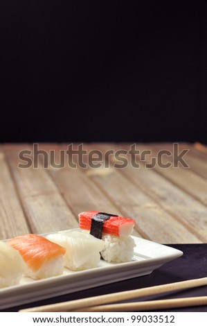 Sushi Time - stock photo