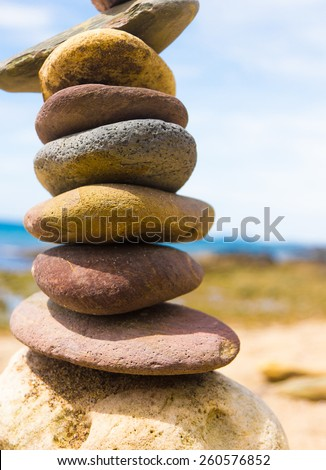 Sustainable Growth Stable Object  - stock photo