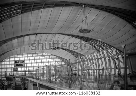 Suvarnabhumi Airport, Thailand's National Airport.