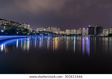Suwon kwankyo lake park - stock photo