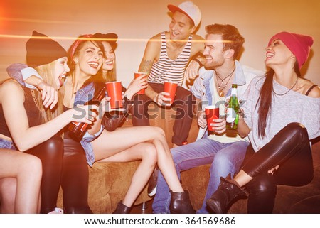 Swag party - stock photo