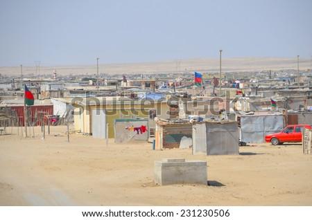 Swakopmund Namibia October 09 2014 House In The Mondesa Slum Of Swakopmund On October 09 2014