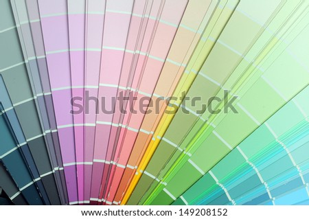 Swatch Book - stock photo