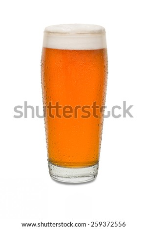 Sweated Craft Pub Beer Glass #8 - stock photo