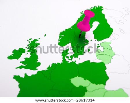sweden northern europe scandinaviamap