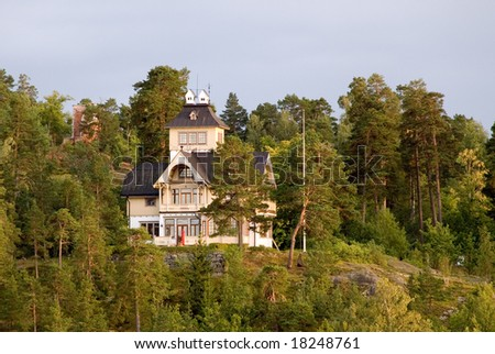 Sweden Rocky Islands - Typical Architecture