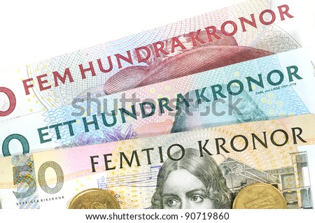 Swedish crowns are one of the most strongest currencies in Europe