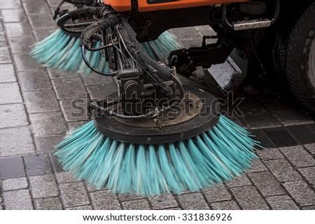 Sweeper - stock photo