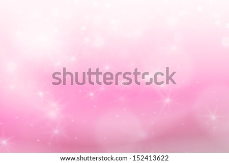 sweet background abstract texture with lights bokeh and stars - stock photo
