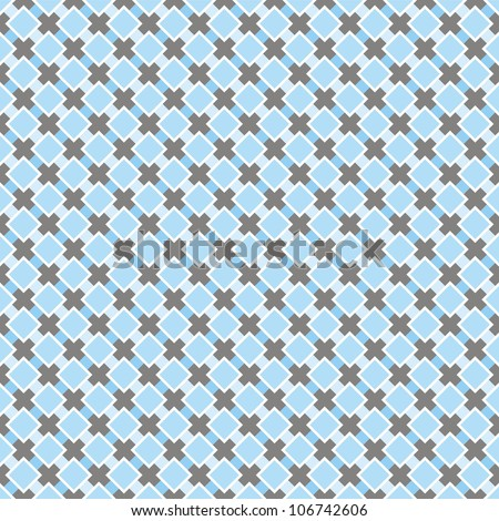 Sweet blue and dark grey background for website, wallpaper, desktop decoration, invitations, wedding or birthday card and scrapbook. Seamless retro pattern.