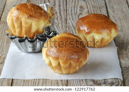 Sweet brioche - stock photo