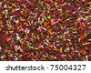 sweet colorful chocolate sprinkles background - stock photo