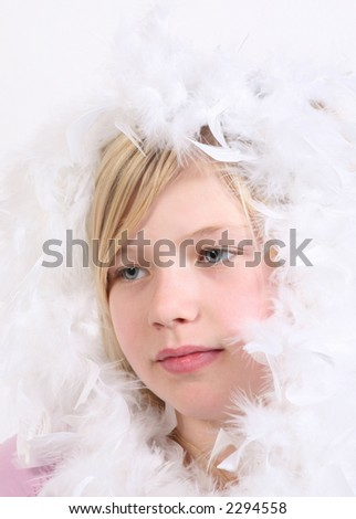 Sweet face of a child - stock photo