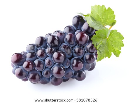 Sweet grapes in closeup - stock photo