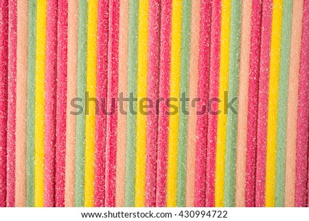 sweet jelly candies close-up - stock photo
