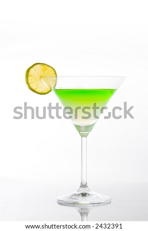 sweet kiwi cocktail