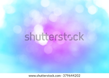 Sweet Pastel Blue and Purple Abstract Bokeh Background - stock photo