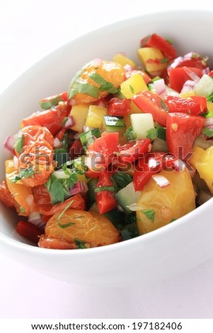 sweet pepper salsa