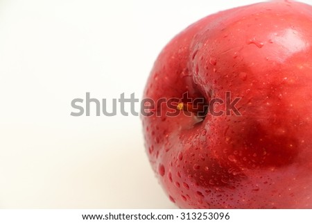 Sweet red apple fruit from fruit market Thailand
