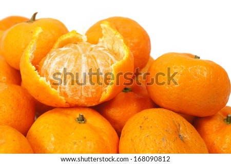 sweet tangerine orange