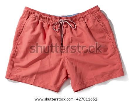 Swim Trunks for Guys - stock photo
