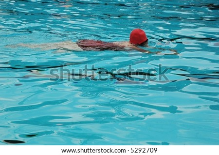 Swimming - stock photo