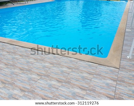 Swimming pool old wooden diving board stock photo 304715399 shutterstock for Swimming pool diving board paint kit