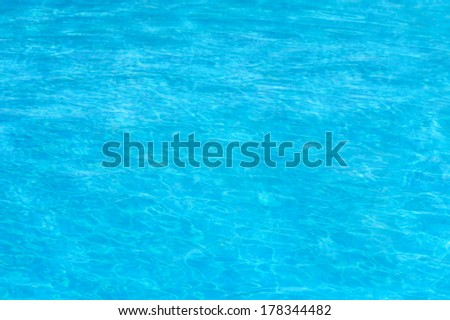 Swimming pool background, water surface close up image - stock photo